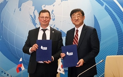 POSTECH and Russia's Far Eastern Federal University sign an MOU, Widens Influence in the Far East