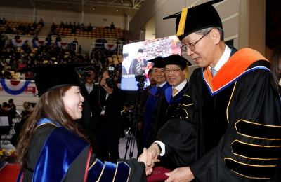 POSTECH Holds Commencement Ceremony for 2015 Academic Year