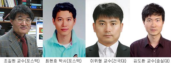 POSTECH 조길원 교수팀, 세계적 학술지 표지논문으로 발표