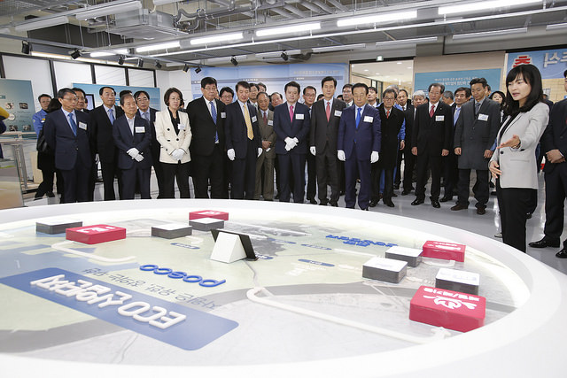 C5 and the POSCO Pohang Center for Creative Economy Open at POSTECH
