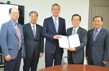 해동문화재단 기부금 전달식