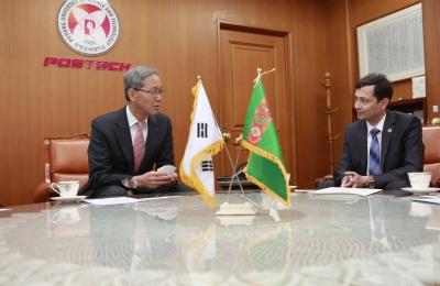 투르크메니스탄 대사관 Myrat Mammetalyyev 대사 일행 방문