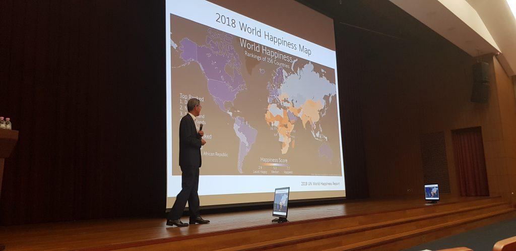 김도연 총장은 8월 17일 LG인화원 연암홀에서 열린 사업가 육성 교육(EnDP:Entrepreneur Development Program)에 연사로 초청받아 특별 강연을 하고 있다.