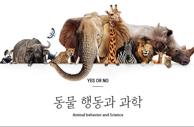 동물 행동과 과학 Animal behavior and Scuence