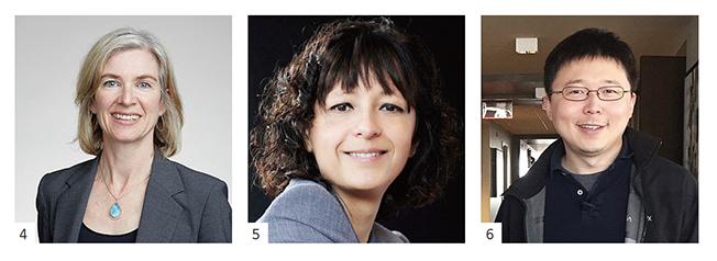 4.제니퍼 다우드나 이미지, 5.에마뉘엘 샤르팡티에 이미지, 6.장 펑 이미지