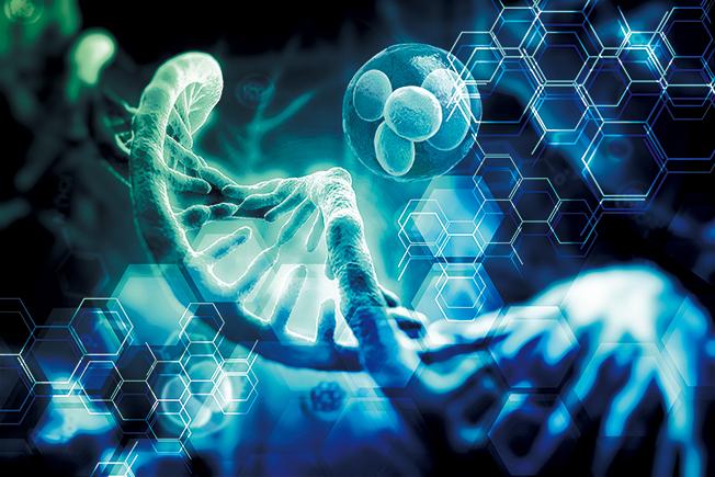 DNA 선명도 이미지