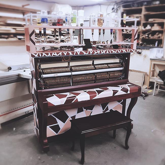 실제 칵테일 피아노 이미지