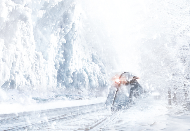 영화 설국열차의 한장면 이미지