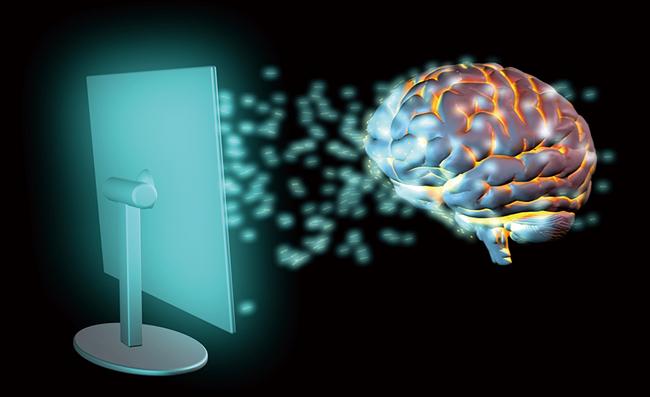 뇌파를 읽어주는 언어 해독기 이미지