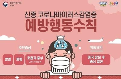 신종 코로나바이러스 감영증 예방수칙