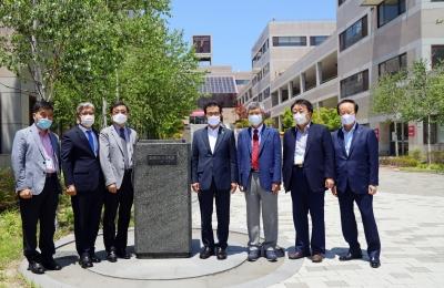 충북 방사광가속기 구축 견학단 본교 내방