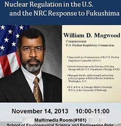 [보도자료] 미 원자력규제위원회 Magwood 위원, 포스텍에서 특별강연